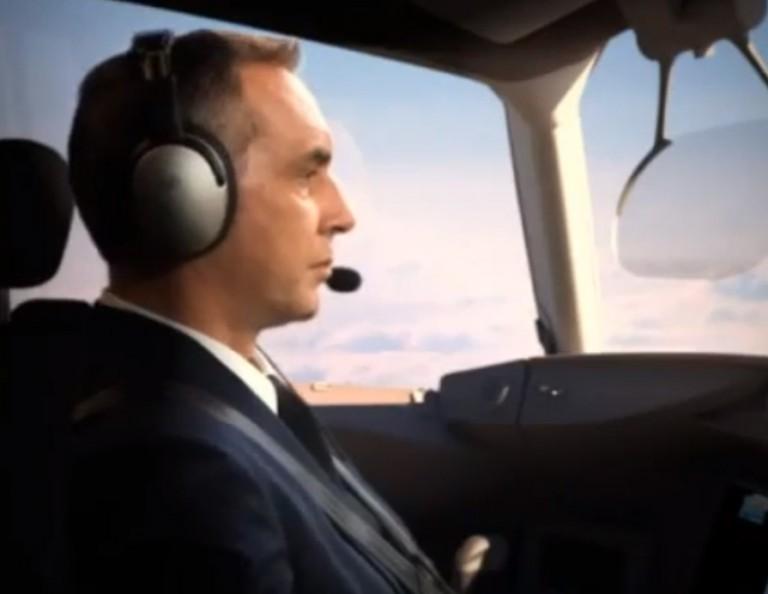 Фильм для Корпорации «Иркут» (презентация самолета)